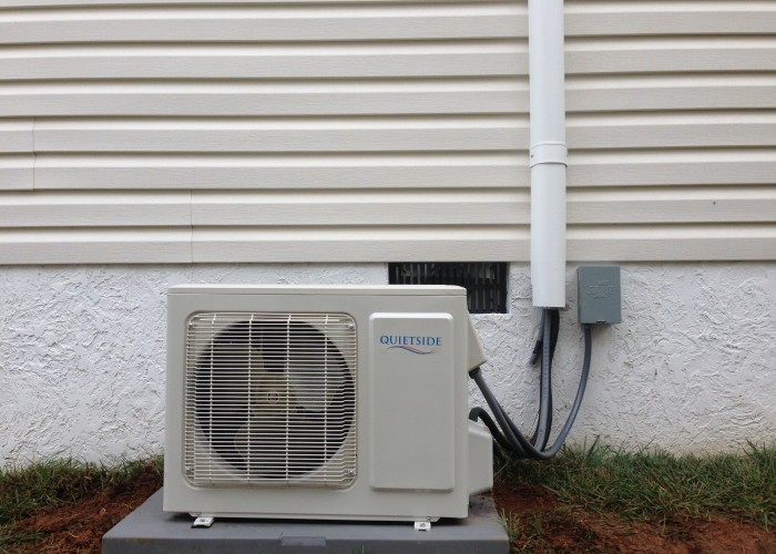 We install inverter mini split systems.